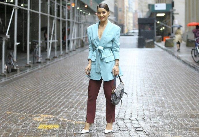 Módní ikona Camila Coelho v New Yorku