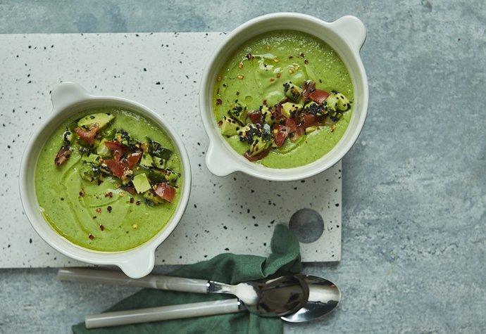 Zelená energie: Avokádová polévka vás postaví na nohy!