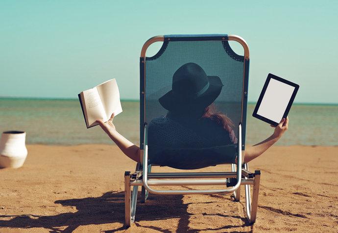 Je lepší kniha, nebo čtečka? Hodně záleží na tom, co si chcete přečíst!