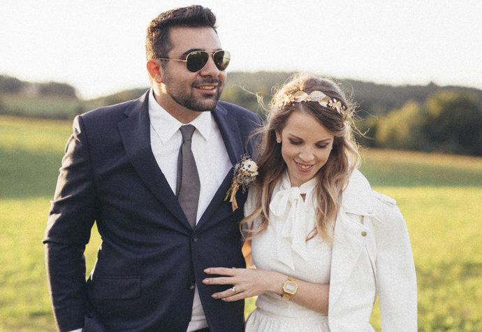 Svatební foto Ejvy s Arménem