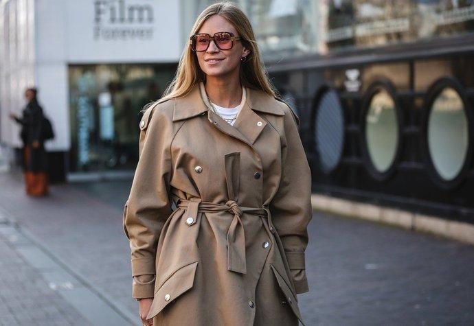 Dánská módní ikona Tine Andrea na fashion weeku v Miláně