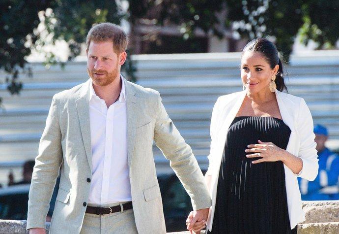 Princ Harry a vévodkyně Meghan na návštěvě Maroka