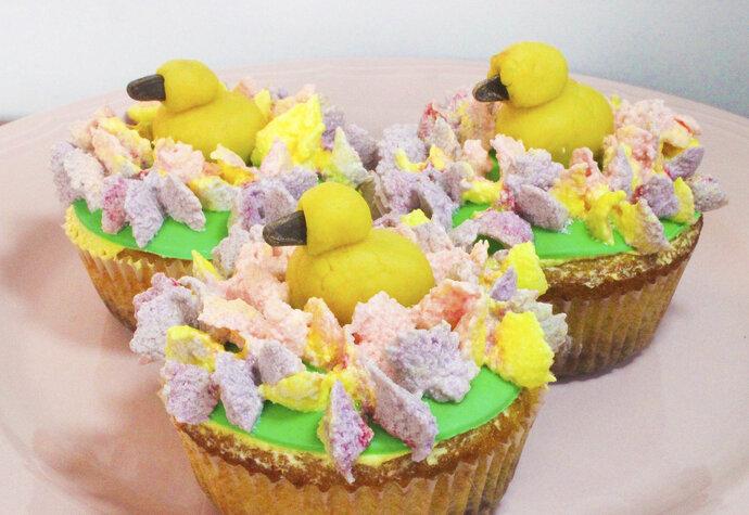 Netradiční pečení: Co takhle zkusit velikonoční cupcakes?