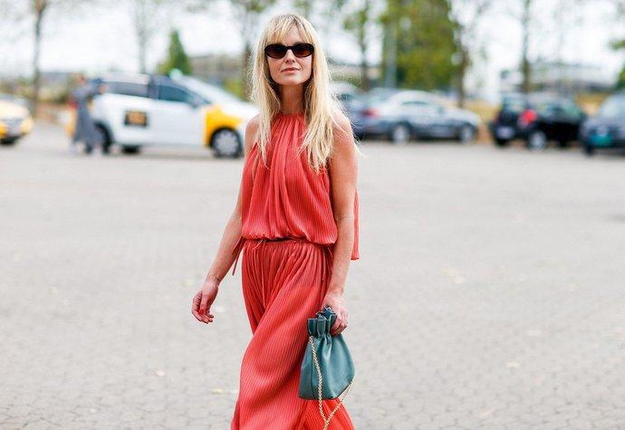 Jeanette Madsen na fashion weeku v Kodani