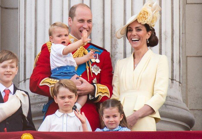 2019: Hvězdou balkónové zdravice se stal malý princ Louis