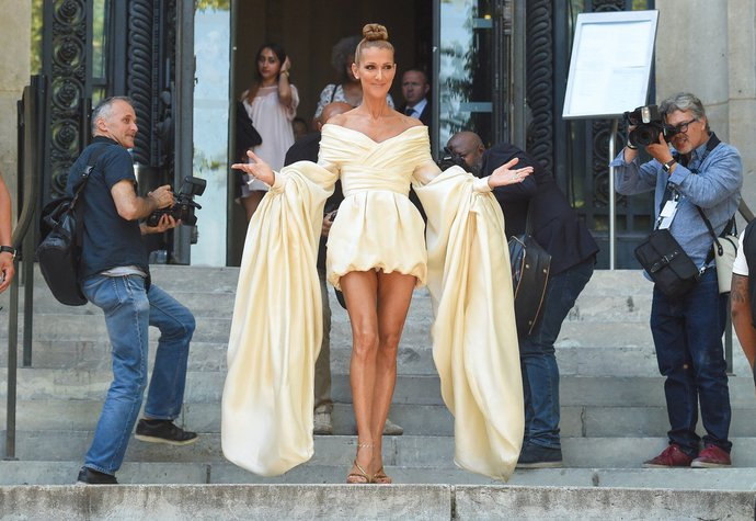 Céline Dion vyráží na přehlídku Alexandre Vauthier