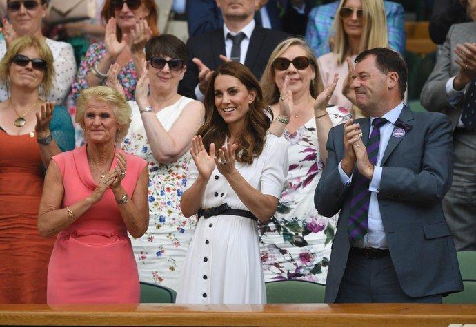 Vévodkyně Kate na Wimbledonu