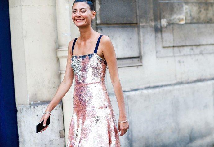Módní influencerka a editorka Giovanna Battaglia