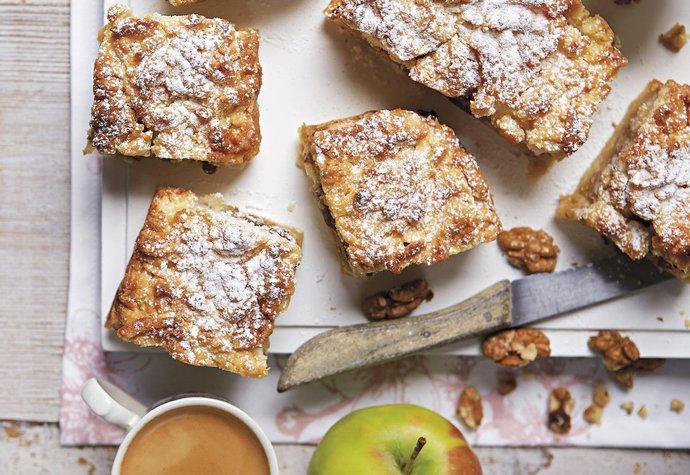 Dezert na víkend pro celou rodinu: Vyzkoušejte naše hraběnčiny řezy s jablky!