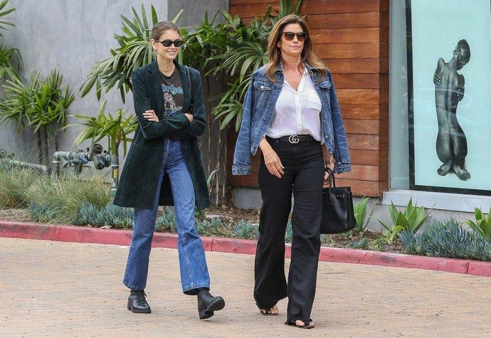 Kaia Gerber je dcerou supermodelky Cindy Crawford