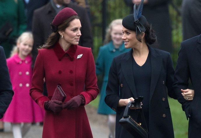 Vévodkně Kate a vévodkyně Meghan sdílejí cit pro barevné kombinace