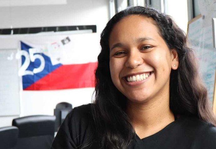 Pracovní pohovor jsem dělala přes Skype, říká Venezuelanka Marie Cortez, která teď pracuje v Praze