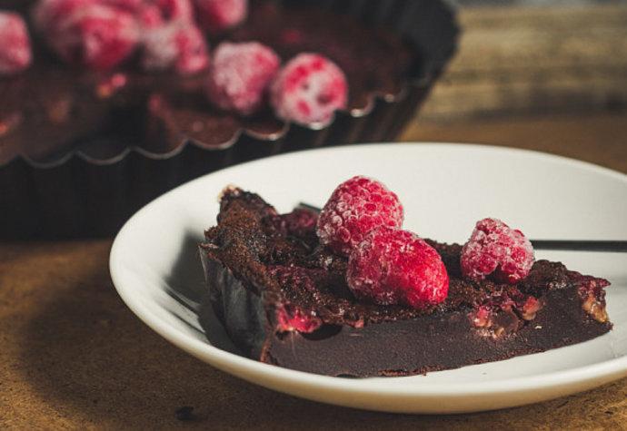 Mlsání povoleno: Vyzkoušejte čokoládový dortík s malinami