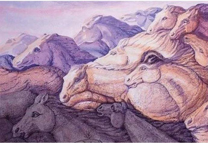 Test osobnosti: Kolik na obrázku vidíte koní? Výsledek odhalí vaši povahu!