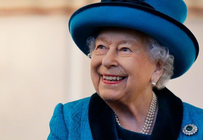 Královna Alžběta II. v roce 2019