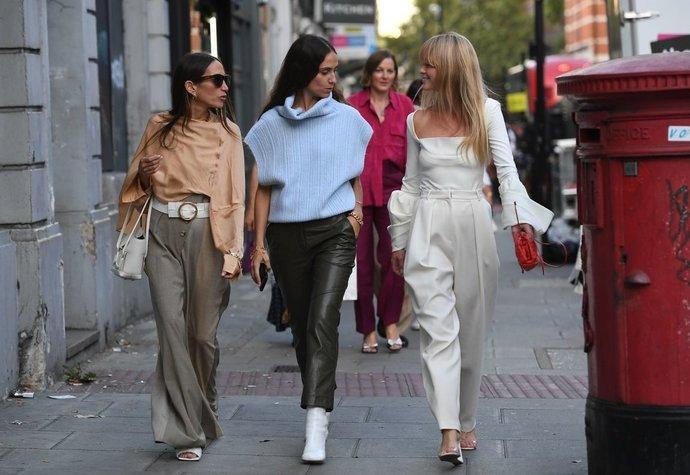 Street style v Londýně.
