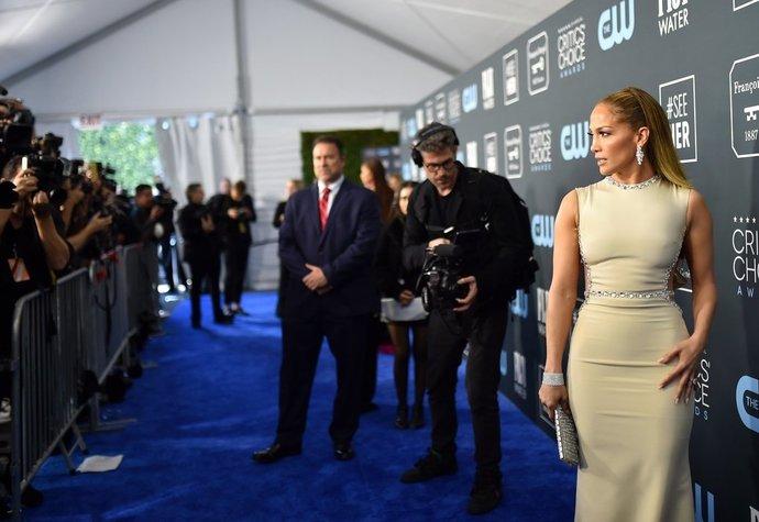 Jennifer Lopez na Critics' Choice Awards