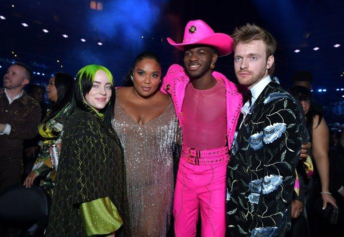 Billie Eilish, Lizzo, Lil Nas X a Finneas O'Connell