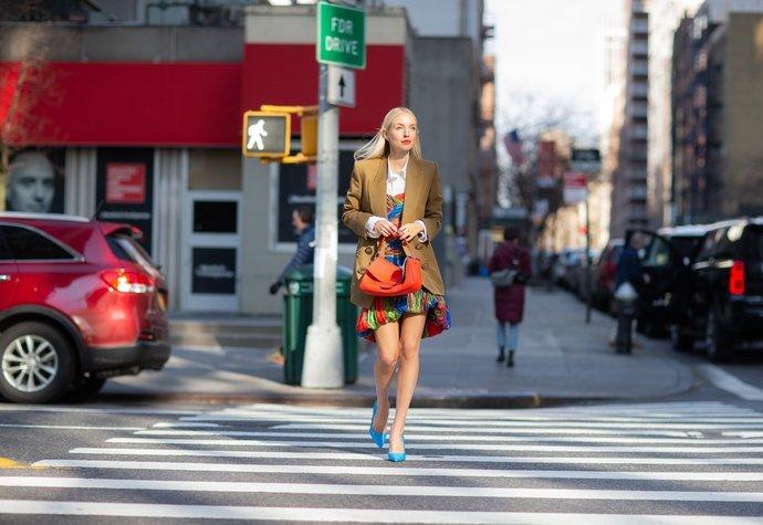 Street style v New Yorku