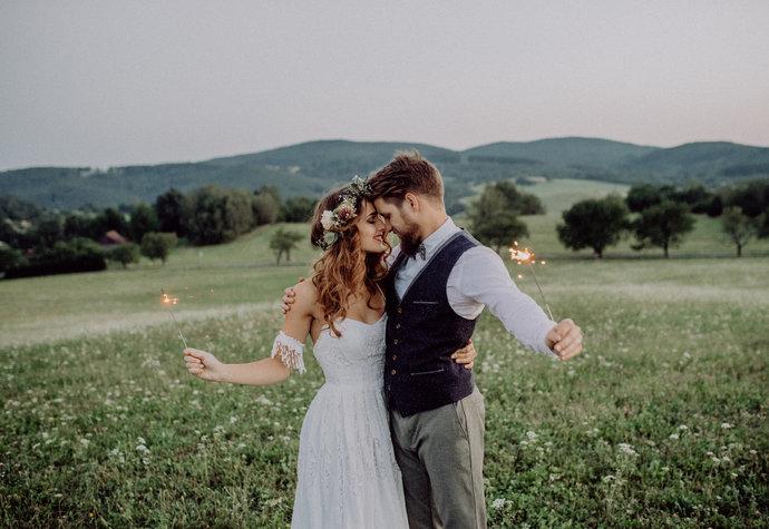 Svatba v souladu s přírodou