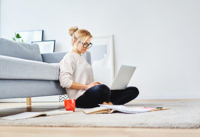 Práce z domu? Jak být efektivní při home office