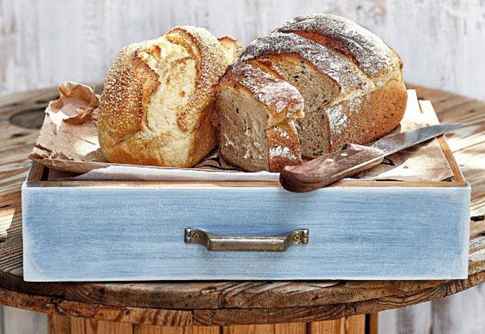 Domácí pečivo: Upečte si výborný podmáslový chléb!