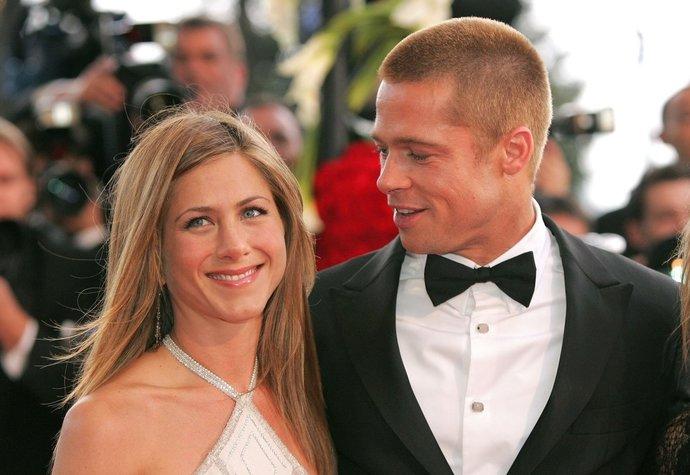 Jennifer Aniston a Brad Pitt na filmovém festivalu v Cannes