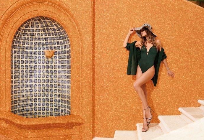 Modelka Doutzen Kroes v kampani pro značku Hunkemoller