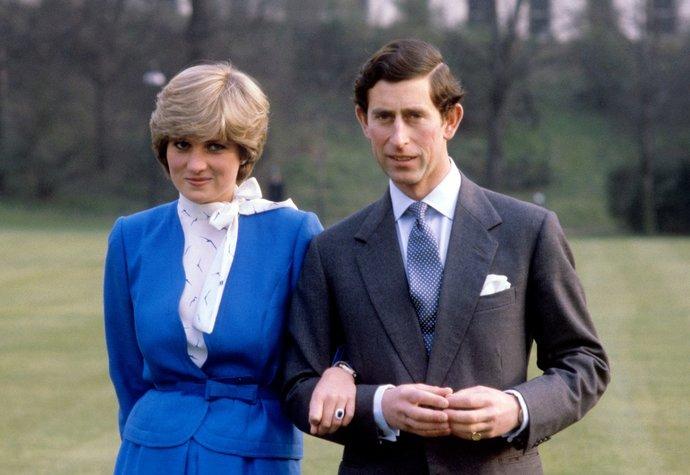 Princezna Diana s princem Charlesem v roce 1981