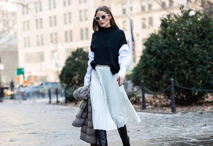 Podzimní kousek, který bude letos extrémně trendy k sukni