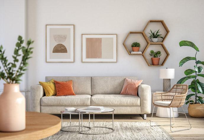 Bytová designérka: Barevné zdi a koberce nejsou přežitek! Dodržujte pravidlo tří barev!