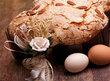 Italskou specialitou je sladký koláč ve tvaru holubice