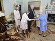 Přijetí prezidenta Miloše Zemana královnou Alžbětou