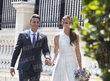 Karolína Plíšková a Michal Hrdlička na své svatbě v Monaku