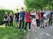 Účastníci projektu se Zuzanou Mravík Zelenickou, CSR manažerkou firmy Samsung