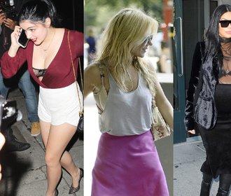Odhalené ňadro, špinavá ramínka! Ani celebrity nemají své podprsenky vždycky pod kontrolou!