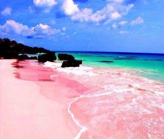 Je ta pláž skutečně růžová? Nebo je to přelud? Na co cestovky lákají klienty
