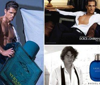 Slavní muži v reklamě na parfémy. Kdo má větší sexappeal?