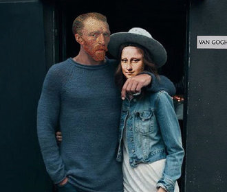 Jak by vypadali Vincent van Gogh a Mona Lisa jako hipsteři?