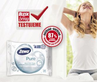 Dotestováno: Jak obstál vlhčený toaletní papír Zewa?