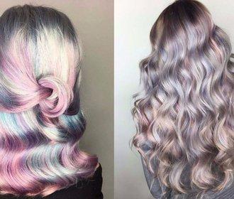 Chcete experimentovat s barvou? Hitem na léto jsou perleťové vlasy!