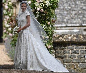Pippa Middleton se vdala! Jak jí to slušelo ve svatebních šatech?