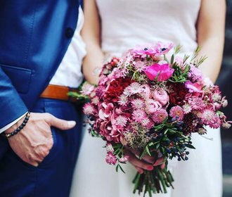 8 květinářství, kde vám uvážou tu nejkrásnější svatební kytici