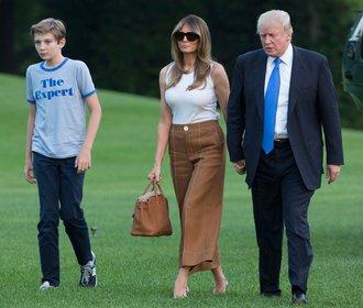 Melania Trump si v roli první dámy začíná věřit a stěhuje se do Bílého domu