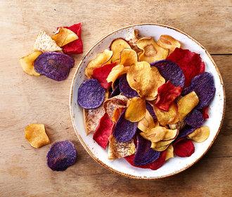 Zdravé mlsání: Jak si vyrobit zeleninové chipsy?