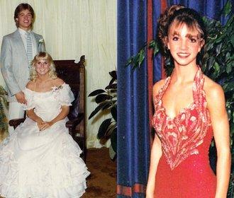 Celebrity na plese: Jak vypadali Brad Pitt nebo Kim Kardashian?
