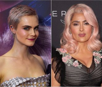 Celebrity zkouší růžové vlasy. Je to trend i pro vás?