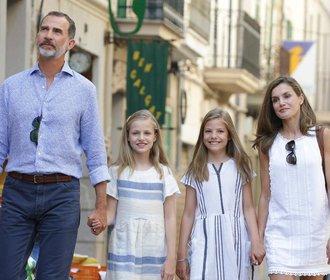 Španělská královská rodina na Mallorce: Trumfne Kate s Williamem?
