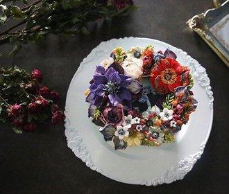 Květinové dorty tak krásné, že je škoda je jíst