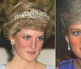 Proč princezna Diana přestala nosit oblíbené modré linky?
